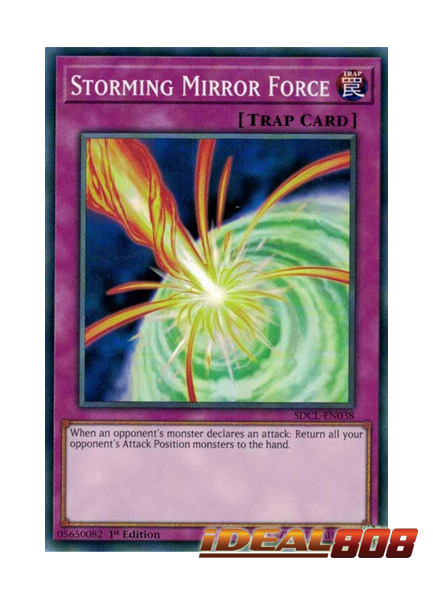 Storming Mirror Force - SDCL-EN038 - Common - 1st Edition