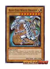 Blue-Eyes White Dragon - YSKR-EN001 - Common - Unlimited Edition