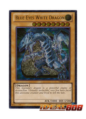 Blue-Eyes White Dragon - YSKR-EN001 - Ultimate Rare - Unlimited Edition