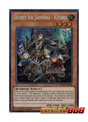 Secret Six Samurai - Kizaru - SPWA-EN005 - Secret Rare - 1st Edition