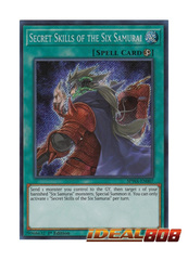 Secret Skills of the Six Samurai - SPWA-EN007 - Secret Rare - 1st Edition