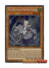 The Weather Painter Cloud - SPWA-EN031 - Secret Rare - 1st Edition