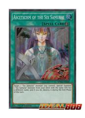Asceticism of the Six Samurai - SPWA-EN048 - Super Rare - 1st Edition