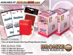 Weiss Schwarz BD Bundle (A) Bronze - Get x2 BanG Dream! Girls Band Party! Booster Boxes + FREE Bonus