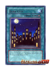 Dark City - POTD-EN048 - Rare - 1st Edition
