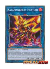 Salamangreat Heatleo - SDSB-EN041 - Common - 1st Edition