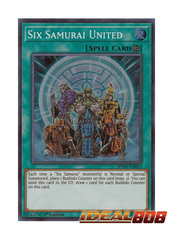 Six Samurai United - SPWA-EN013 - Super Rare - 1st Edition