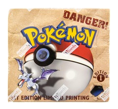 Fossil (1st Edition) Pokemon Booster Box