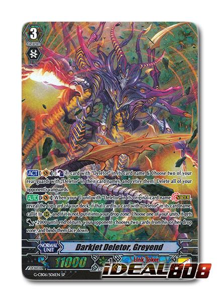 Darkjet Deletor, Greyend - G-CB06/S06EN - SP