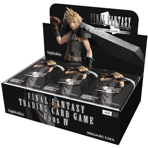 Final Fantasy TCG: Opus IV (4) Collection Booster Box (36 Packs)