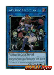 Akashic Magician - CIBR-EN051 - Secret Rare - Unlimited Edition