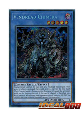 Vendread Chimera - CIBR-EN082 - Secret Rare - Unlimited Edition