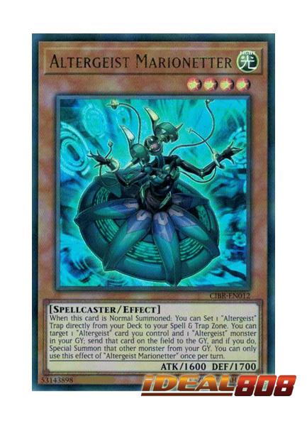Altergeist Marionetter - CIBR-EN012 - Ultra Rare - Unlimited Edition