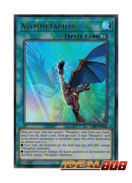 Asymmetaphys - CIBR-EN060 - Ultra Rare - Unlimited Edition