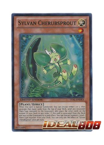 Sylvan Cherubsprout - LVAL-ENDE3 - Super Rare