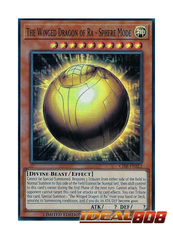 The Winged Dragon of Ra - Sphere Mode - CIBR-ENSE2 - Super Rare - Limited Edition