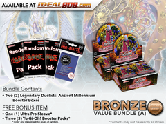 Legendary Duelists: Ancient Millennium Bundle (A) - Get 2x Booster Boxes + Bonus Items * PRE-ORDER Ships Feb.23, 2018