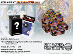Legendary Duelists: Ancient Millennium Bundle (B) - Get 4x Booster Boxes + Bonus Items