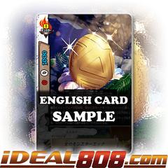 Gold Monster Egg [X-BT04/0027EN R (Glossy)] English