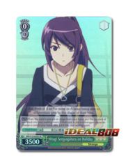 Hitagi Senjyogahara on Holiday [BM/S15-E029S SR (FOIL)] English