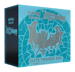 SM Sun & Moon - Ultra Prism (SM05) Pokemon Elite Trainer Box - Dawn Wings Necrozma