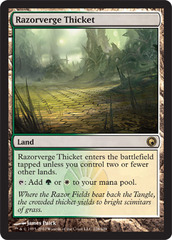 Razorverge Thicket - Foil