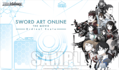Weiss Schwarz Sword Art Online Ordinal Scale Case Promo Playmat