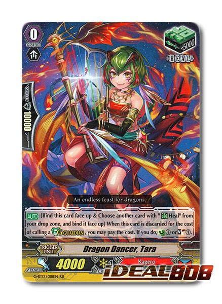 Dragon Dancer, Tara - G-BT13/018EN - RR