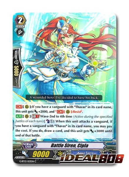Blue Wave Shield General RR Yorgos Cardfight 1x G-BT13//026EN
