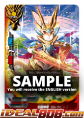 Awakened Deity Dragon, Garrabbit [S-BT05/0050EN C (FOIL)] English