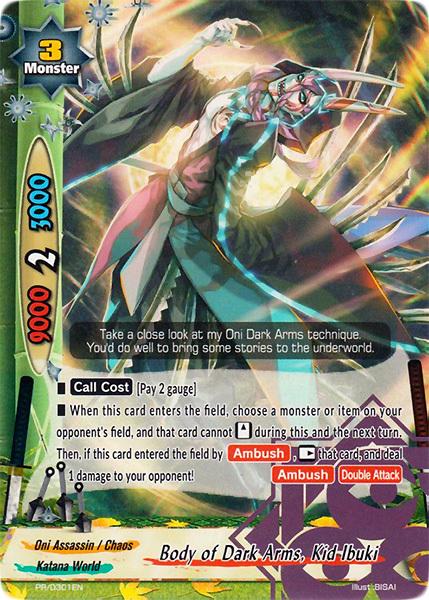 Body of Dark Arms, Kid Ibuki [PR/0301EN (Regular)] English