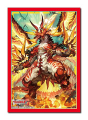 Bushiroad Cardfight!! Vanguard Sleeve Collection (70ct)Vol.307 Zeroth Dragon of Inferno, Drachma
