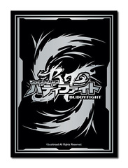 Future Card Buddyfight Collection Vol.36 [Logo in Silver & Black] Bushiroad Sleeves (55ct) [#731465]