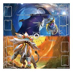 Pokemon Sun & Moon - Play Mat - Solgaleo & Lunala [#190655]