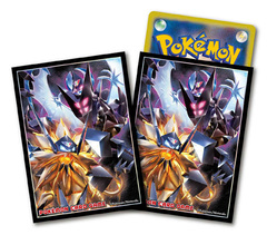 Pokemon Sun & Moon Ultra - Card Sleeves (64ct) - Dusk Mane Necrozma & Dawn Wings Necrozma (includes Dividers) [#191881]
