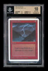 Unlimited Lightning Bolt BGS 10 [0006668333] Pristine