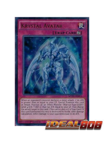 Krystal Avatar - MVP1-EN011 - Ultra Rare - 1st Edition