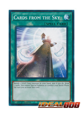 Cards from the Sky - SR05-EN027 - Common - 1st Edition