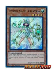Power Angel Valkyria - SR05-EN003 - Super Rare - 1st Edition