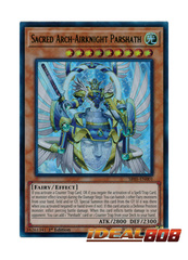 Sacred Arch-Airknight Parshath - SR05-EN001 - Ultra Rare - 1st Edition