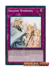 Solemn Warning - SR05-EN037 - Common - 1st Edition
