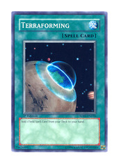 Terraforming - SDRL-EN026 - Common - Unlimited Edition