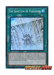 The Sanctum of Parshath - SR05-EN025 - Super Rare - 1st Edition