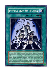 Inferno Reckless Summon -  SDMM-EN027  - Common - Unlimited Edition