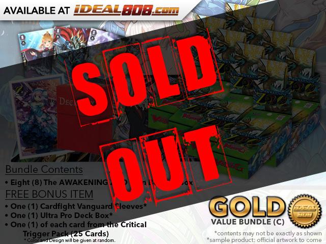 Cardfight Vanguard G-EB02 Bundle (C) Gold - Get x8 The AWAKENING ZOO Booster Box + FREE Bonus Items