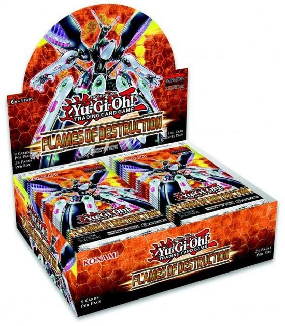Flames of Destruction (1st Edition) Booster Box
