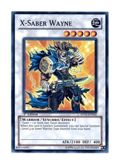 X-Saber Wayne - 5DS3-EN042 - Super Rare - Unlimited Edition