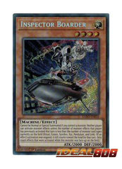 Inspector Boarder - EXFO-EN035 - Secret Rare - 1st Edition