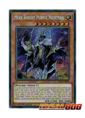 Mekk-Knight Purple Nightfall - EXFO-EN020 - Secret Rare - 1st Edition