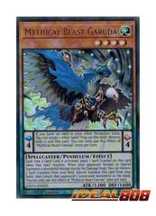 Mythical Beast Garuda - EXFO-EN023 - Ultra Rare - 1st Edition